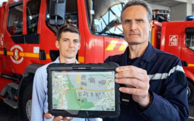 Les pompiers à l'heure du numérique